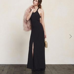 Reformation  Nightingale Open Back Maxi Dress
